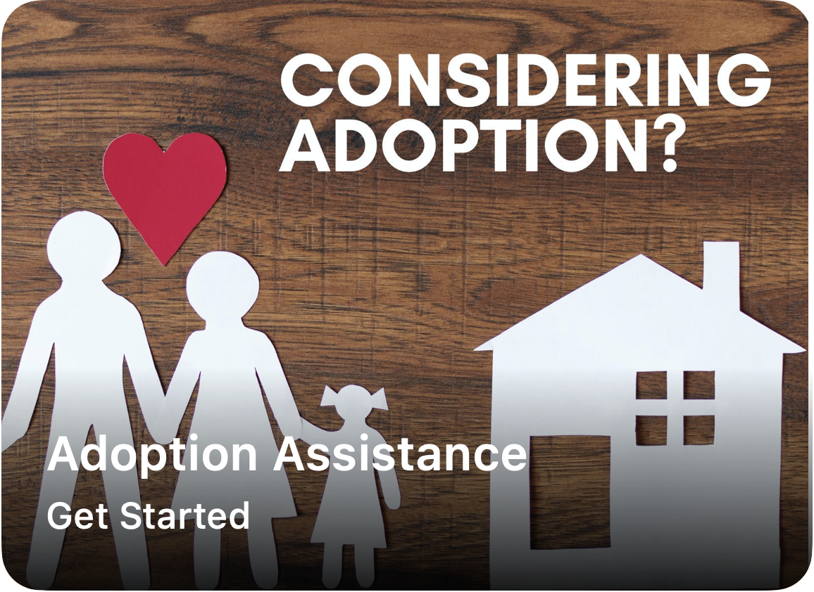 Our Adoption Assistance Program seeks to defray the significant costs of domestic and international adoptions for couples wishing to open their lives to a child.